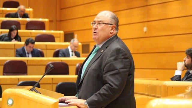 El senador por Almería Eugenio Gonzálvez