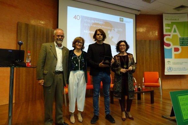 Reconocimiento de la EASP a la labor de Pablo Recio como consejero de Salud