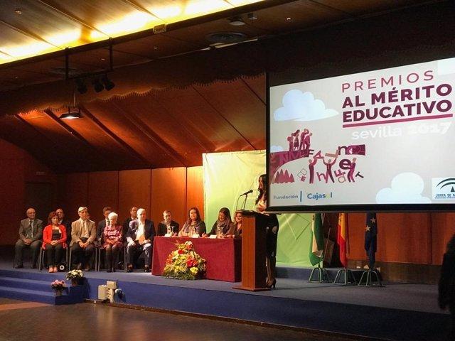 Entrega de los Premios al Mérito Educativo en Sevilla