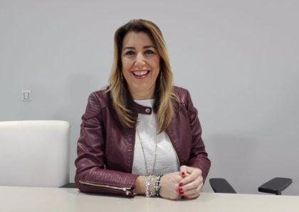 """Susana Díaz: Casado """"no diría"""" de ninguna otra elección autonómica española que es la primera vuelta de las generales"""