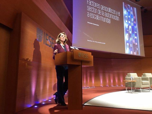 La socia de KPMG en España Begoña Cristeto