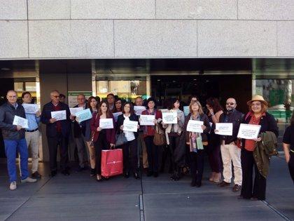 Letrados de la Administración de Justicia paran durante dos horas para reclamar al Gobierno adecuación salarial