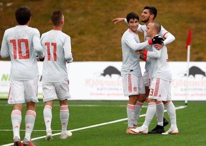 España empieza a mirar al Europeo de 2019 ante Dinamarca