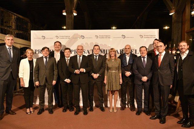 Premios Empresa Familiar presidido por Ceniceros