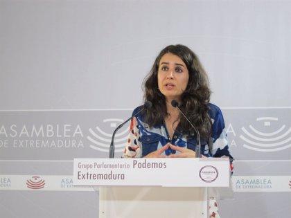 """Irene de Miguel encabeza la candidatura de """"Extremadura Decide"""" a la Asamblea en una lista con Álvaro Jaén y Jara Romero"""