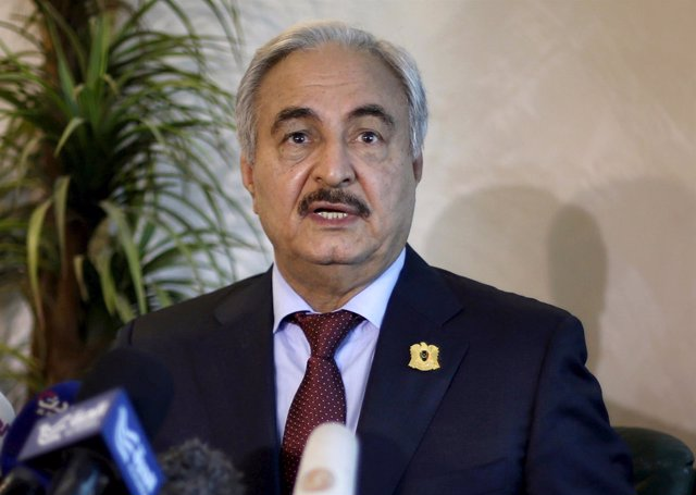 El general Jalifa Haftar