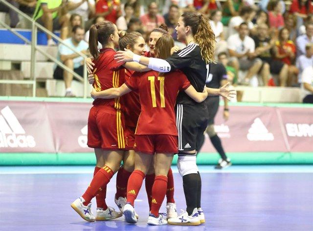 La selección española femenina de fútbol sala
