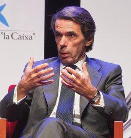 José María Aznar participa en el Aula de Cultura de El Norte de Castilla