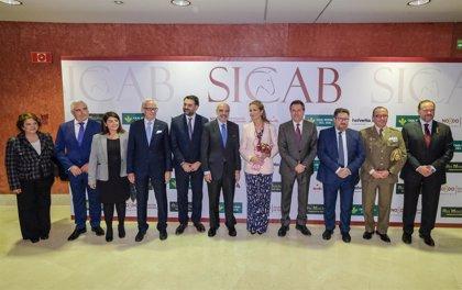 La Infanta Elena inaugura la 28 edición de Sicab con 343 ganaderías nacionales e internacionales