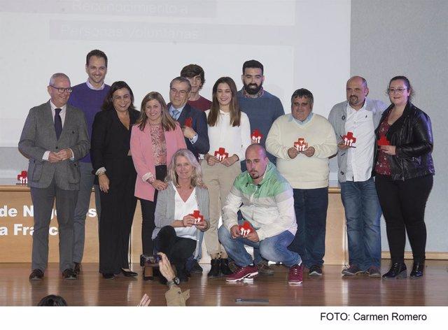 Ceremonia organizada por Cruz Roja Cádiz