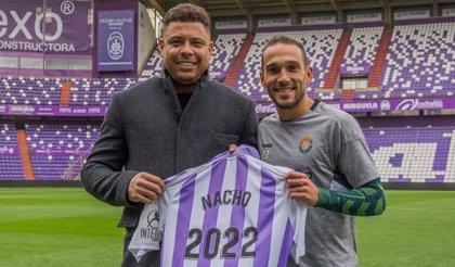 Nacho Martínez renueva con el Valladolid hasta 2022