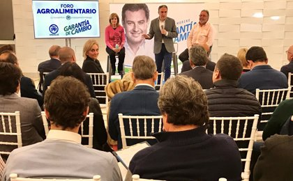 Bendodo (PP) destaca su apoyo al sector agroalimentario de Málaga y anuncia la creación de una Consejería de Agua