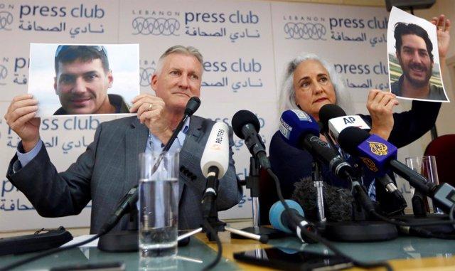 Los padres de Austin Tice, periodista 'freelance' secuestrado en Siria