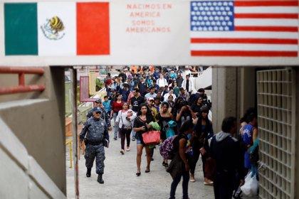 EEUU refuerza su seguridad en la frontera a la espera de la llegada de la caravana de migrantes