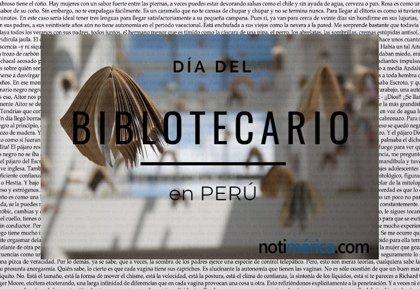 14 de noviembre: Día del Bibliotecario en Perú, ¿cuál es el origen de esta efeméride?
