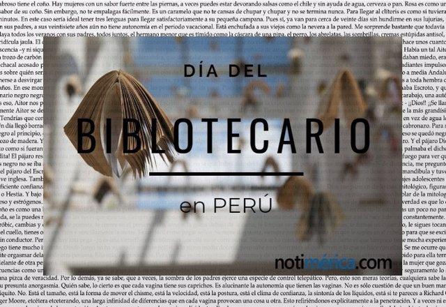 Día del Bibliotecario en Perú