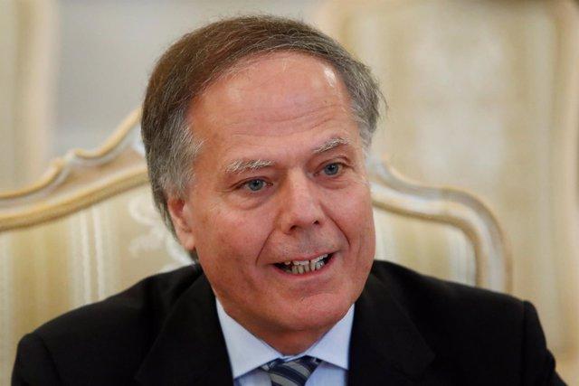 El ministro de Exteriores de Italia, Enzo Moavero