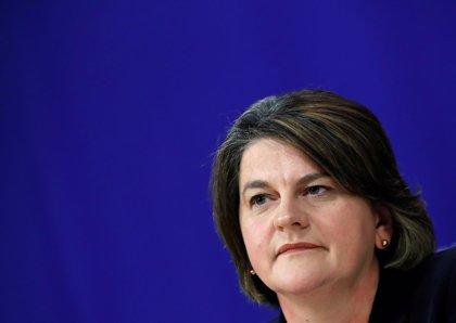 La líder del DUP deja claro que su partido no apoyará el acuerdo del Brexit propuesto por May