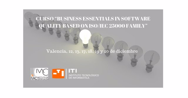 Curso Business Essentials in Software Quality based on ISO/IEC 25000 Family