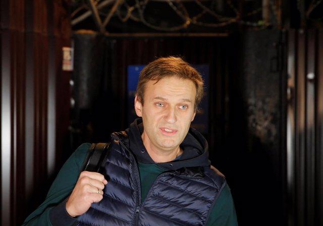 El político ruso Alexei Navalni