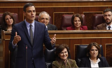"""Sánchez treballa per remetre els Pressupostos al Congrés """"abans que acabi l'any"""" (Eduardo Parra - Europa Press)"""