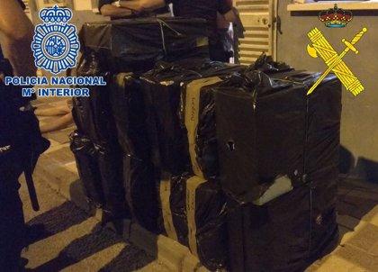 Diez detenidos e incautadas más de 50.000 cajetillas de tabaco de contrabando en La Línea