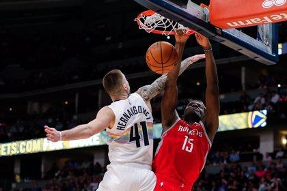 Los hermanos Hernangómez sufren derrotas ante los Rockets y los Cavaliers