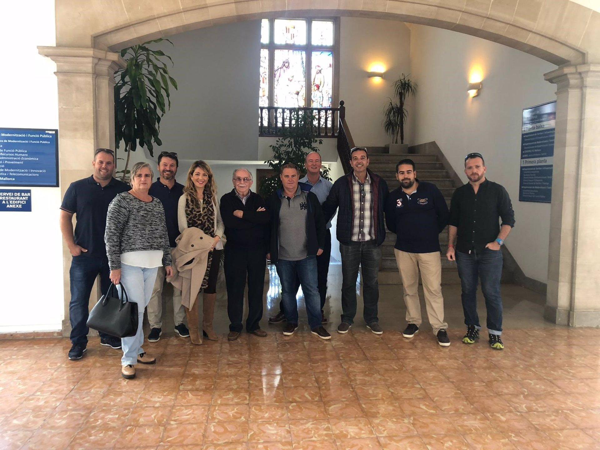 El Consell y el Ayuntamiento de Andratx se reúnen para buscar un futuro polígono de servicios en el municipio
