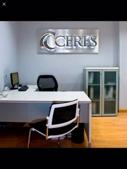 Una de las oficinas de la constructora andaluza Grupo Ceres