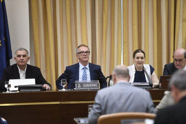 José Guirao compareix en la Comissió de Cultura i Esport del Congrés