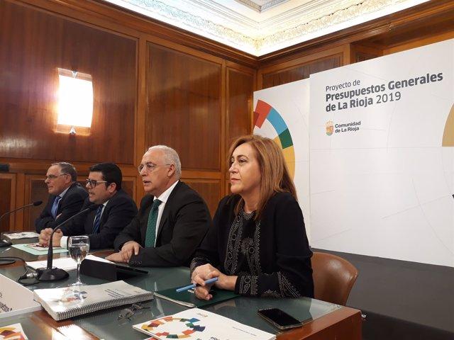 Presentación presupuestos de La Rioja 2019