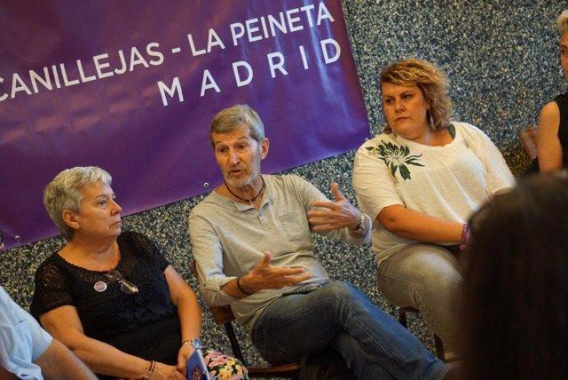 El secretario de Podemos Madrid, Julio Rodríguez