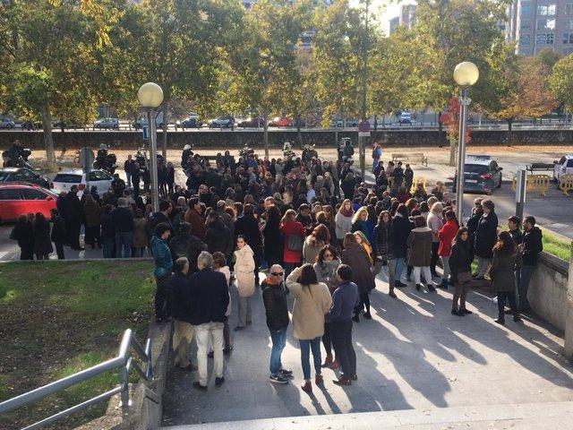 Funcionarios de la Audiencia Provincial de Madrid