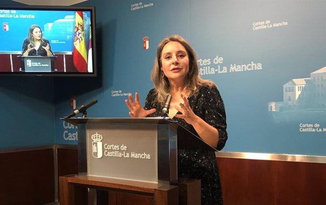 Araceli Martínez en las Cortes