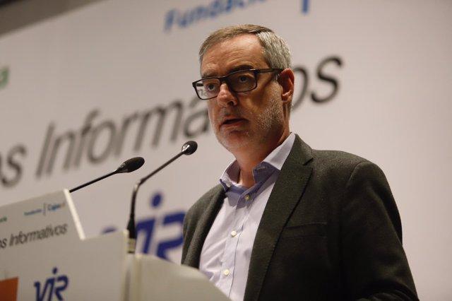 José Manuel Villegas, secretario general de Ciudadanos Cs
