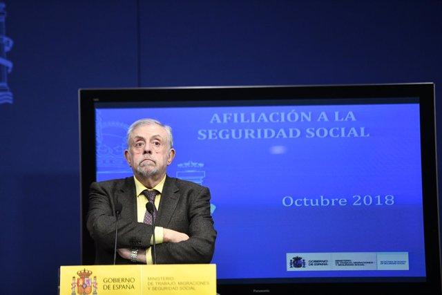 Presentación de los datos de paro registrado y afiliación a la Seguridad Social