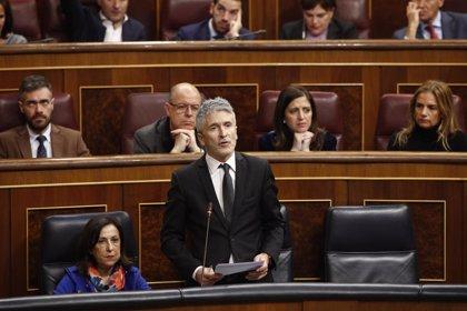 Marlaska subraya que lo que mejor sabe hacer es ser ministro cuando le preguntan si será candidato a alcalde de Madrid