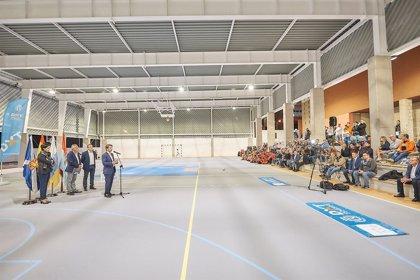 Invierten 590.000 euros en la mejora y techado del polideportivo de Fasnia (Tenerife)