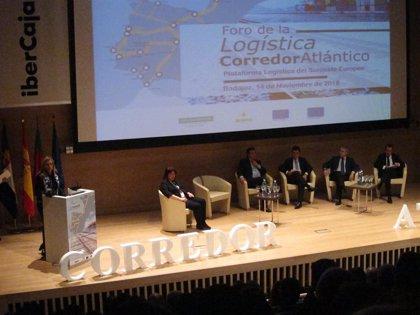 """El Corredor Atlántico es """"prioritario"""" para el Gobierno y se va a desarrollar junto al Mediterráneo, según García Seco"""