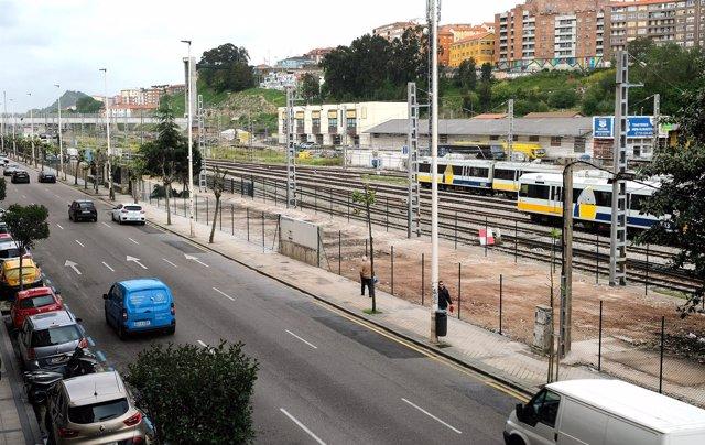Terrenos ADIF calle Castilla