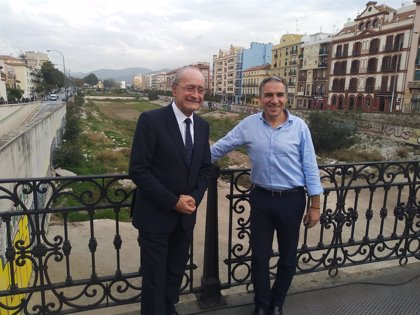 """PP pone como """"prioridad absoluta"""" el """"cerrar la herida histórica"""" del Guadalmedina con una solución urbana de consenso"""