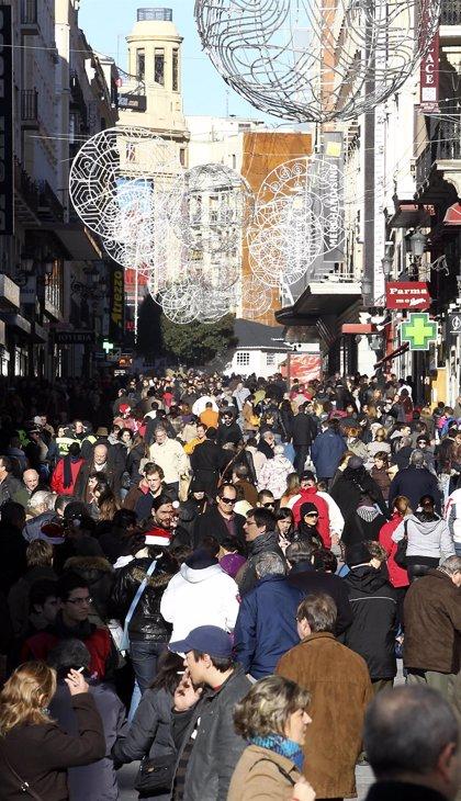 Señalética luminosa, con flechas y aspas, regulará en Navidad el acceso peatonal a Carmen y Preciados