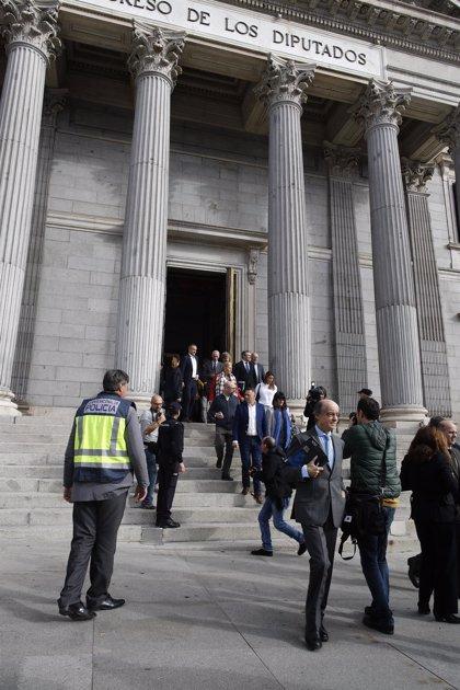 El Congreso desaloja a 1.800 personas en siete minutos en un simulacro de emergencia en medio del Pleno