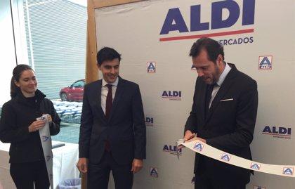 Aldi abre su tercer supermercado en Valladolid, en la avenida de Burgos, y crea 15 puestos de trabajo
