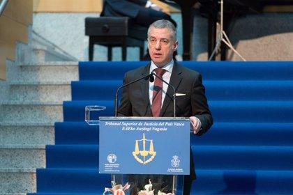"""El lehendakari exige al Estado """"lealtad constitucional"""" en el traspaso de transferencias"""