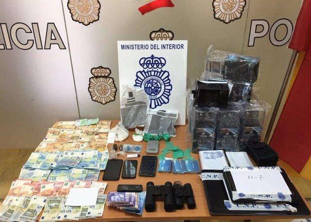 Detenido por menudeo de cocaína en Algeciras