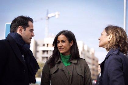 Aguado y Villacís visitan las obras del Instituto María Rodrigo en Vallecas y celebran que cuente con 210 plazas nuevas