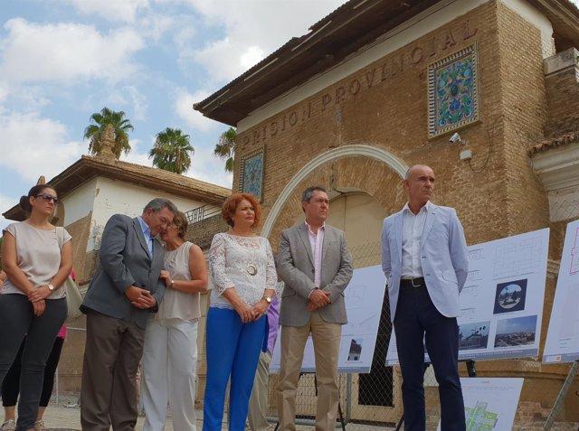 El pabellón de la antigua cárcel de Ranilla, protegido por el catálogo