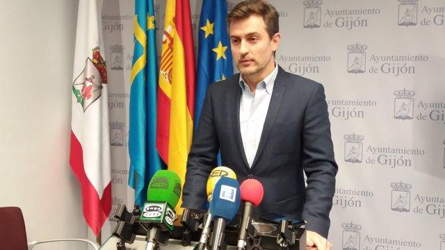 JOSÉ MARÍA PÉREZ, PORTAVOZ PSOE GIJÓN