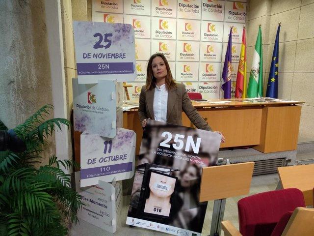 Guijarro presenta las actividades con motivo del 25 de noviembre